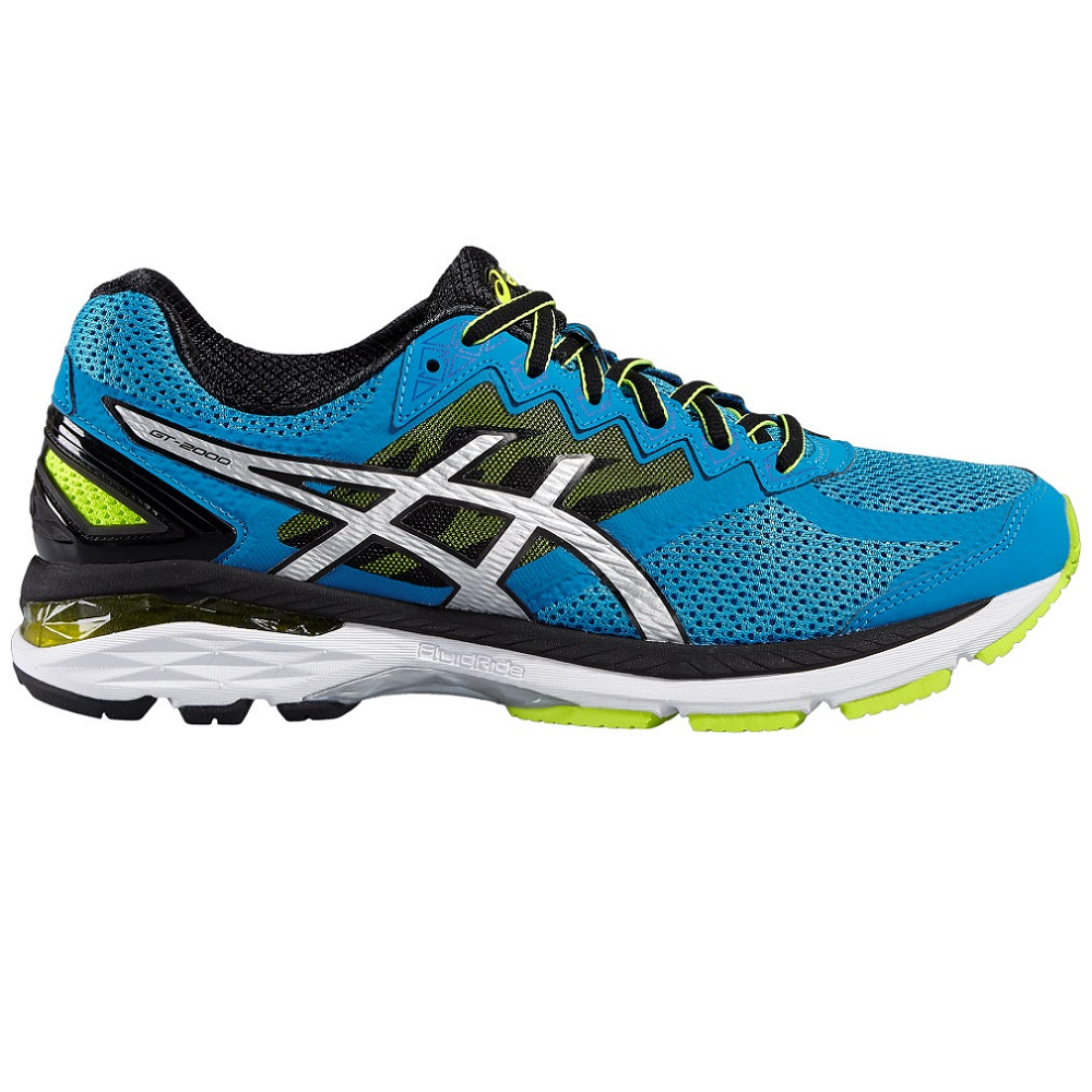 Asics Gt 2000 4 Mens Blue Jewel Black Safety Yellow Mens