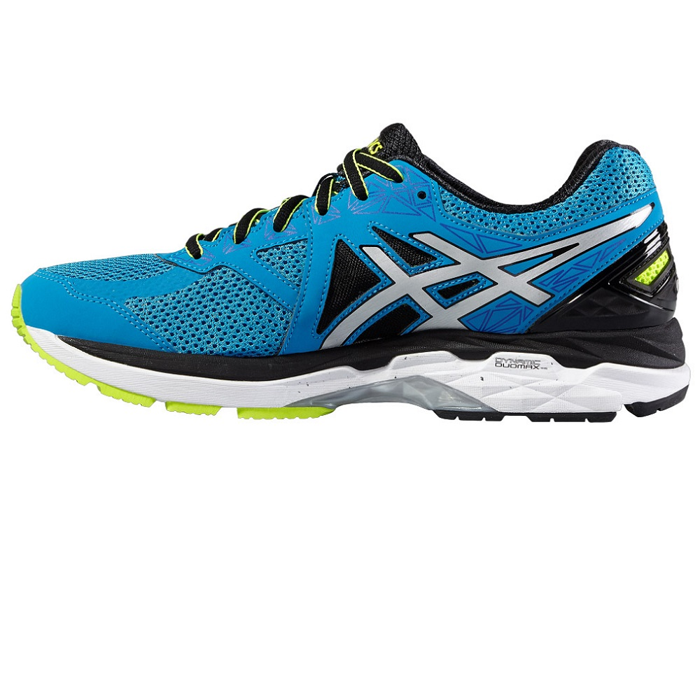 27cbe5a1ac ... Asics GT 2000 4 Mens Blue Jewel/Black/Safety Yellow Mens - view 2 ...