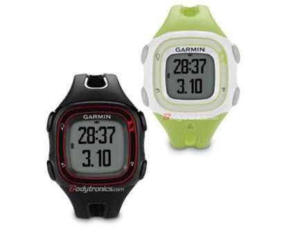 how to upload run to garmin connect forerunner 10