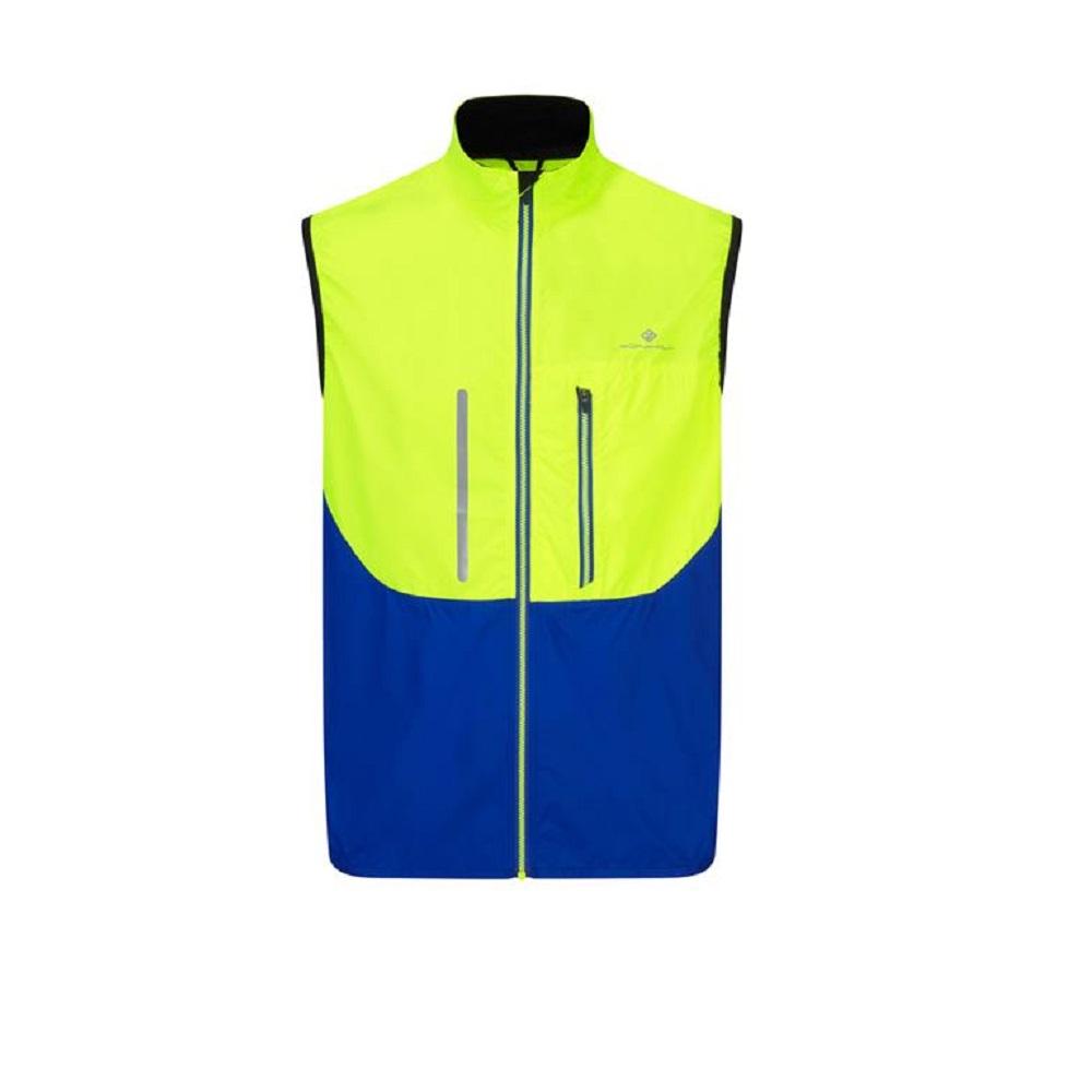 Ronhill Runnersworld Fueltbelt Neon Vest Mens Vizion Windlite Gilet