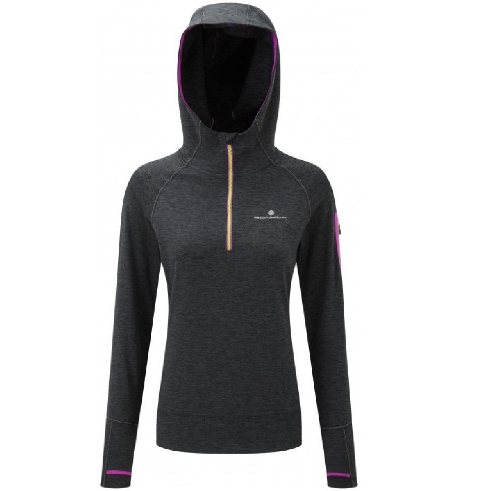 Ronhill Runnersworld Fueltbelt Neon Vest Womens Momentum Victory Hoodie