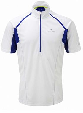 Ronhill Trail Zip  Short Sleeve Tee mens 424