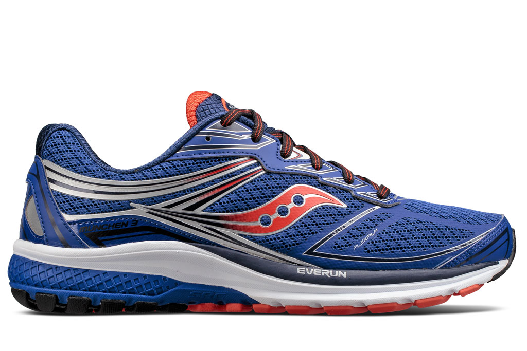 saucony munchen 3 cushioned running shoes runnersworld. Black Bedroom Furniture Sets. Home Design Ideas